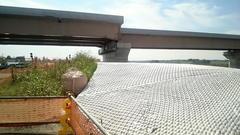 圏央道の橋脚の保護工10