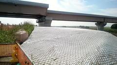 圏央道の橋脚の保護工12