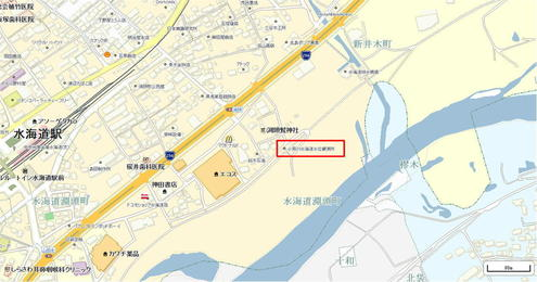 小貝川水海道水位観測所