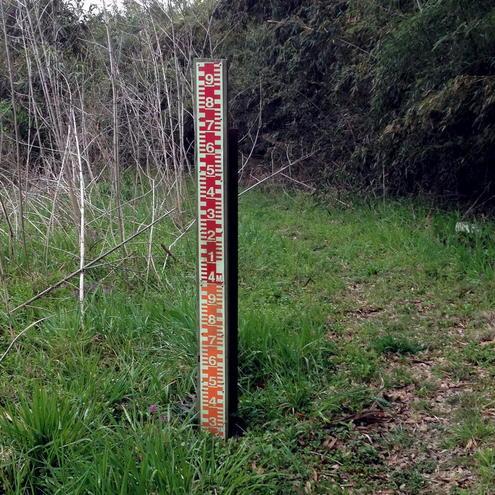 水位標(河道側)